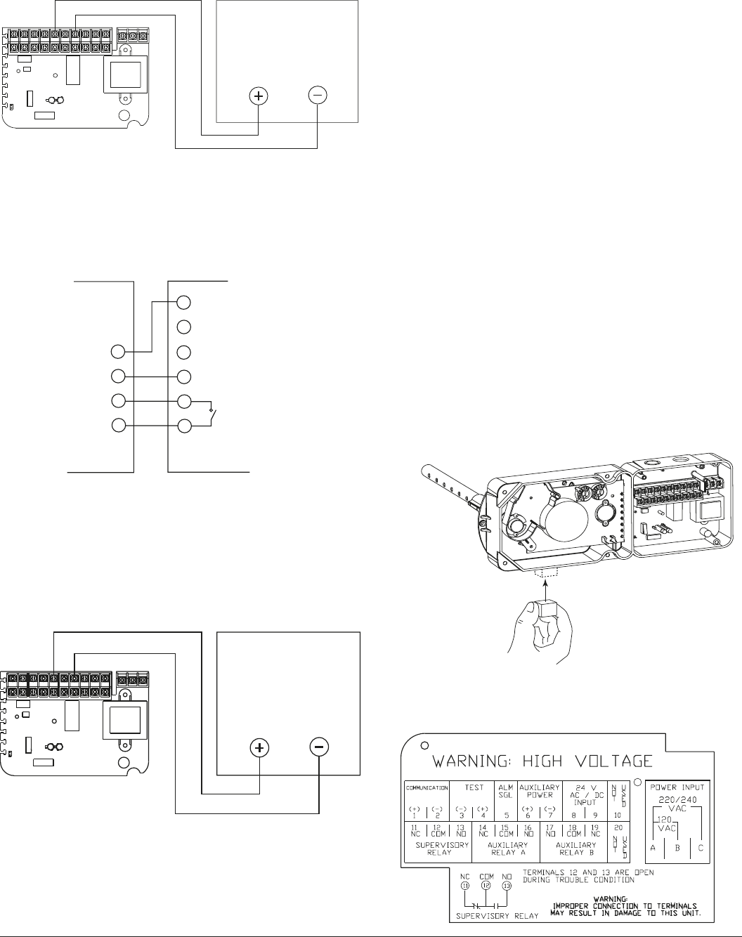 8483b56e 848c 4932 8d73 94b60800f0eb bg6 page 6 of system sensor smoke alarm dh200rpl user guide on siemens duct detector wiring diagram