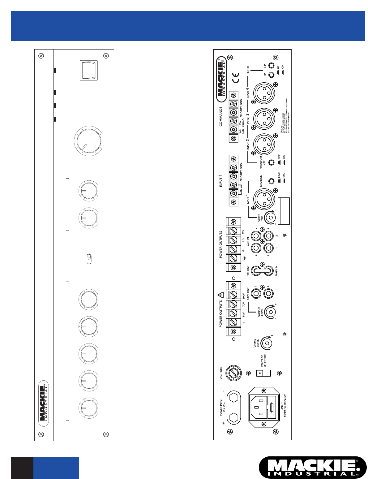 page 3 of mackie stereo amplifier am4060 user guide manualsonline com rh audio manualsonline com mackie dl1608 user guide mackie mix5 user guide