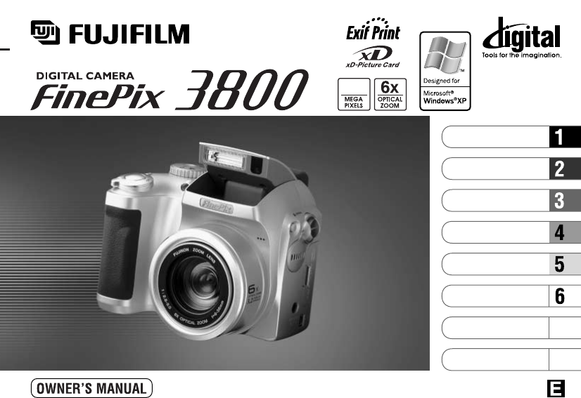 fujifilm digital camera finepix 3800 user guide manualsonline com rh camera manualsonline com fujifilm finepix s700 digital camera manual fujifilm digital camera f650 manual