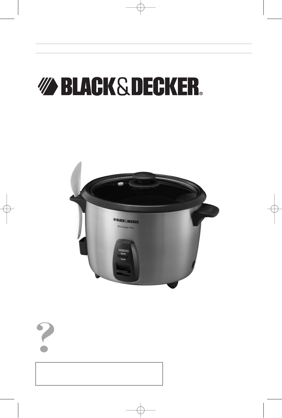 black decker rice cooker rc866 user guide manualsonline com rh kitchen manualsonline com black and decker rice cooker manual rc506 black and decker rice cooker manual 550