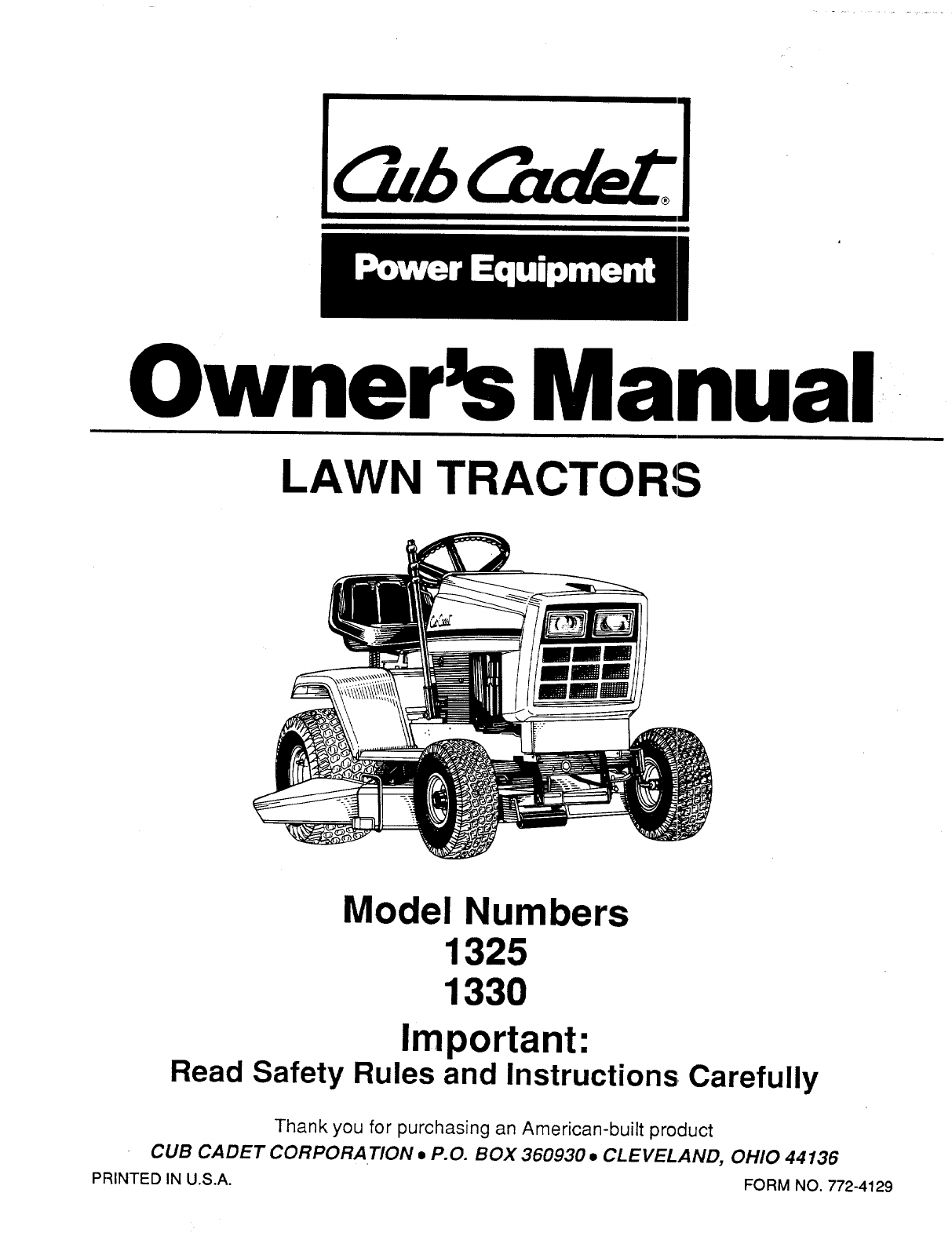 855a42c2 4361 4265 addd e71c5f7f7ccd bg1 cub cadet lawn mower 1330 user guide manualsonline com cub cadet 1330 wiring diagram at gsmportal.co