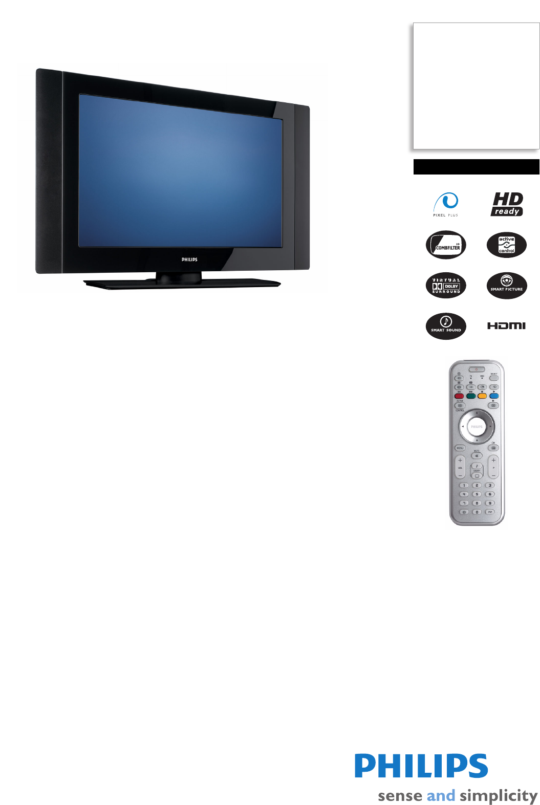 part store philips flat panel television 42pf7411 user manual rh partstore manualsonline com Philips TV Philips HDTV Rear LCD