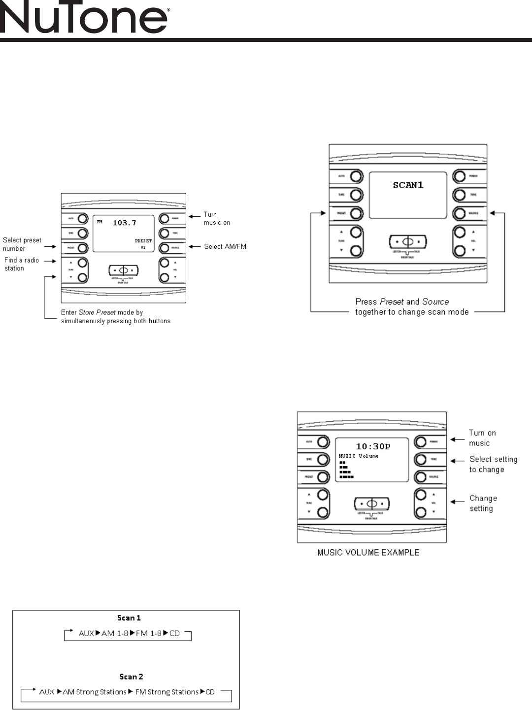 Nutone Nm200 Intercom Wiring Diagram Trusted Schematics Systems Page 3 Of System User Guide Manualsonline Com Broan