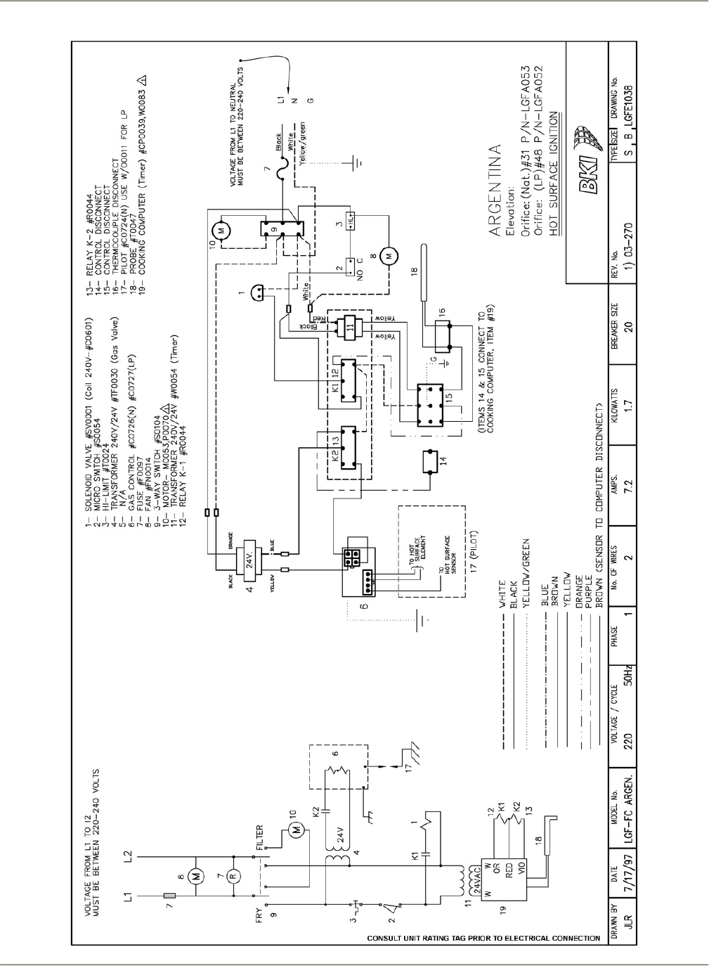 Page 57 of Bakers Pride Oven Fryer LGF User Guide ...  Way Switch Wiring Diagram Micro on 3 way switch getting hot, 3 way switch with dimmer, 3 way switch troubleshooting, two way switch diagram, 3 wire switch diagram, gfci wiring diagram, easy 3 way switch diagram, volume control wiring diagram, circuit breaker wiring diagram, 3 way switch help, 3 way light switch, 3 way switch installation, 3 way switch schematic, three switches one light diagram, 3 way switch cover, 3 way switch wire, 3 way switch electrical, four way switch diagram, 3 way switch lighting,