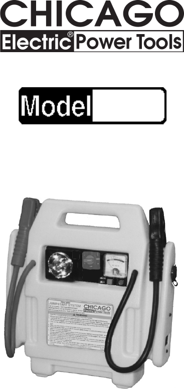 manual battery charger instructions
