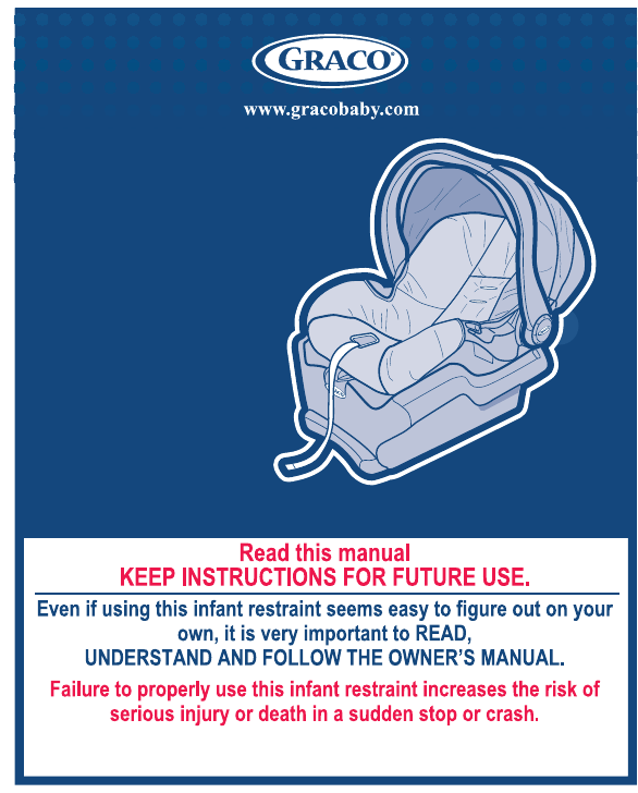 Graco Car Seat Classic Connect 35 User Guide