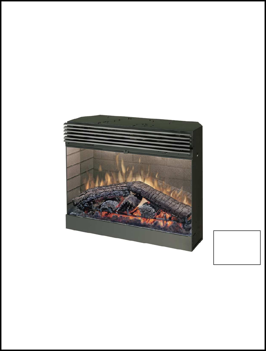 Dimplex Fireplace Manual Part - 30: PRACTICAL USERu0027S GUIDE. FOR THE ELECTRIC FIREPLACE