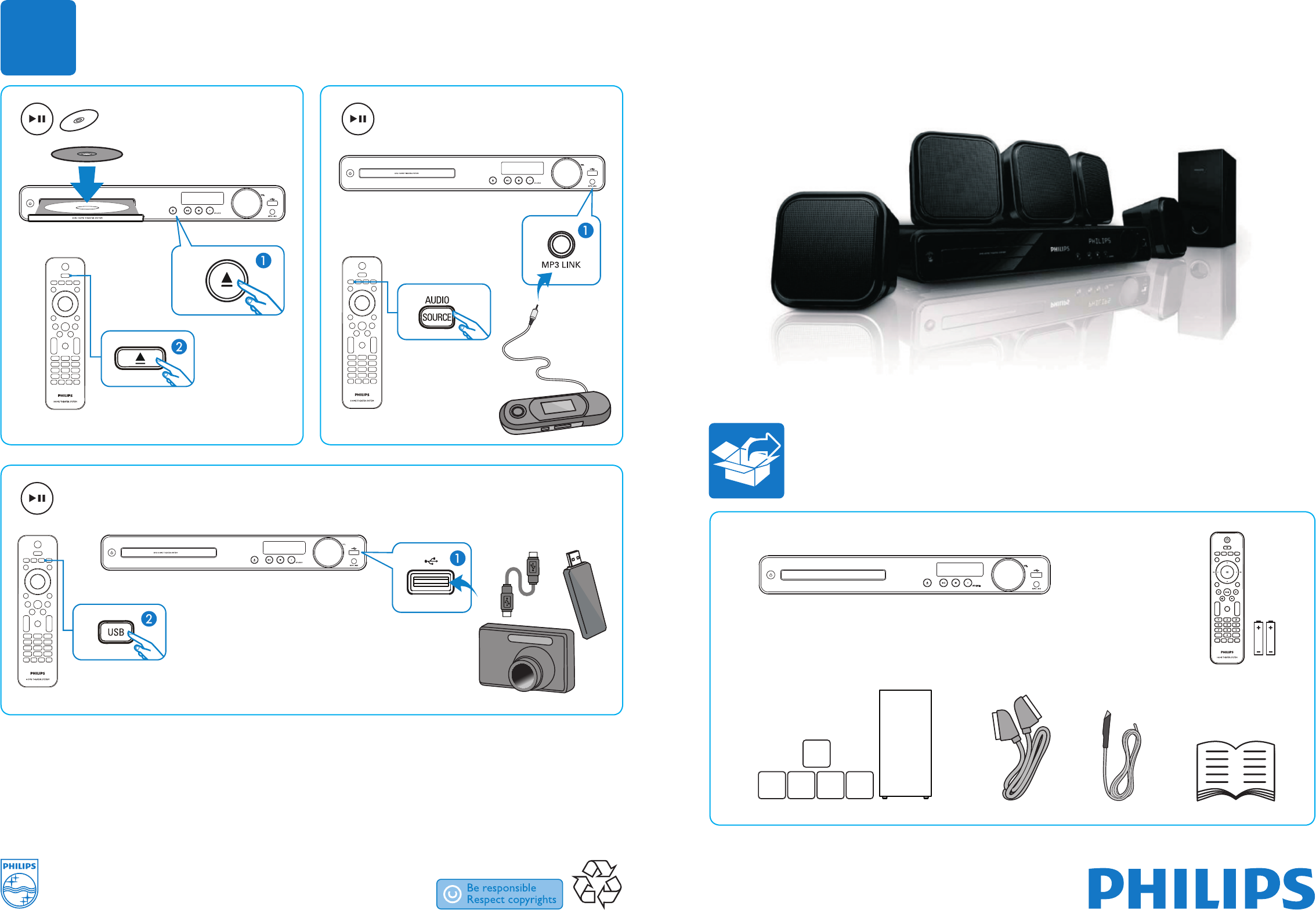 philips home theater system hts3269 12 user guide manualsonline com rh manualsonline com