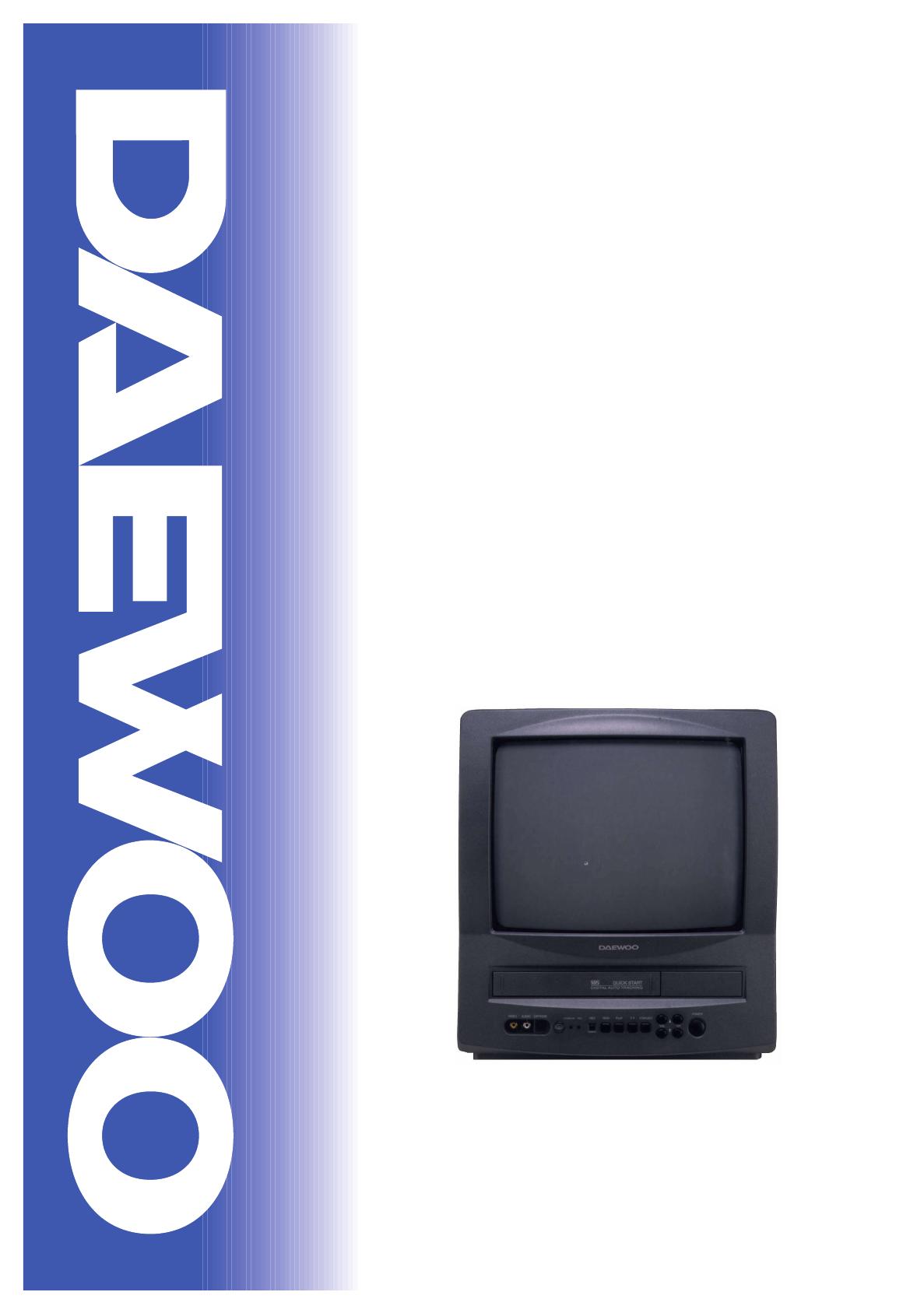 Daewoo Tv Vcr Combo Dvq