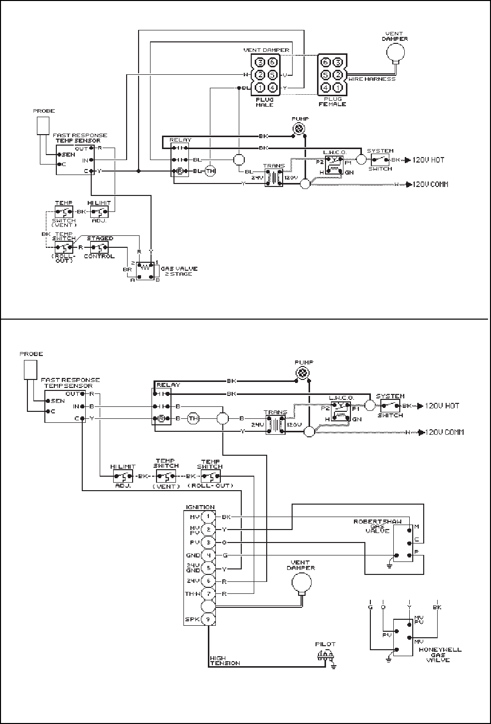 page 22 of raypak boiler 0180b user guide manualsonline com wiring diagram standing pilot low water cut off device