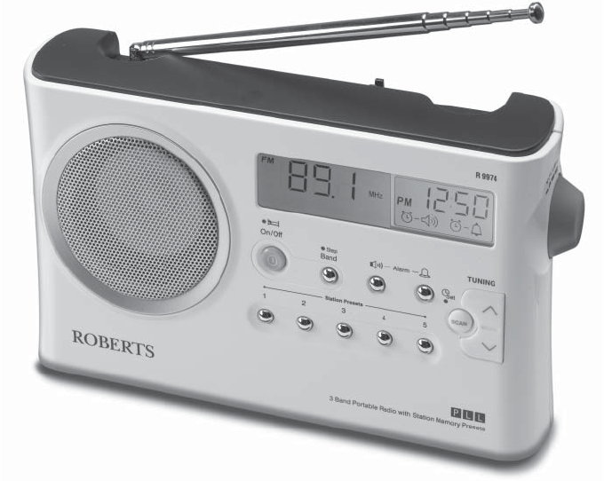 roberts radio stereo system r9974 user guide manualsonline com rh audio manualsonline com roberts radio user guide roberts radio stream 107 user manual