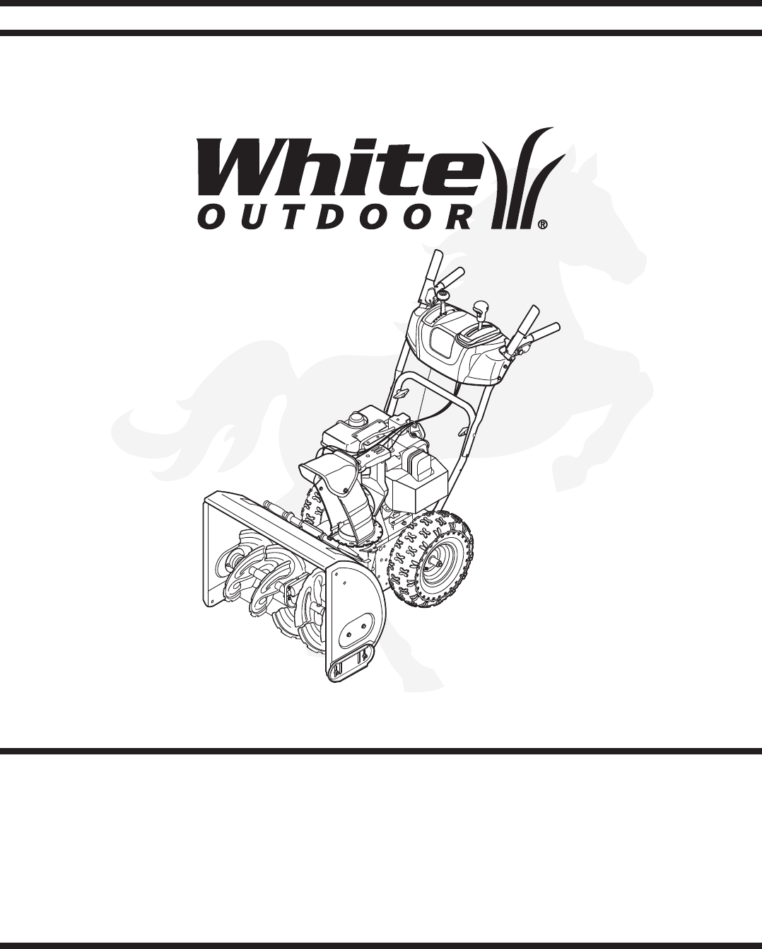 White Snow Blower Replacement Parts : White snowblower parts tractor engine and wiring