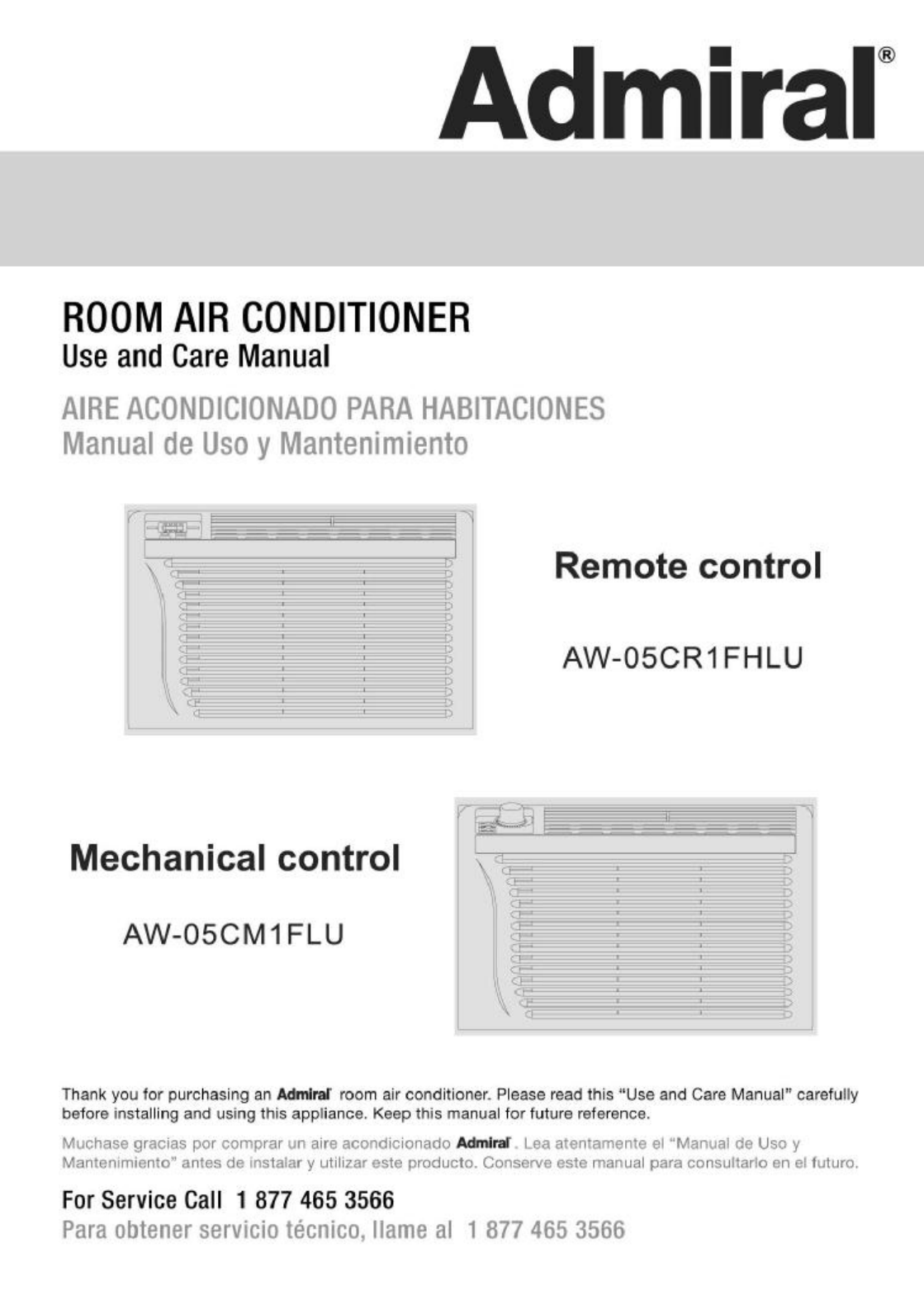 Admiral air conditioner aw 05cm1flu user guide manualsonline next publicscrutiny Images