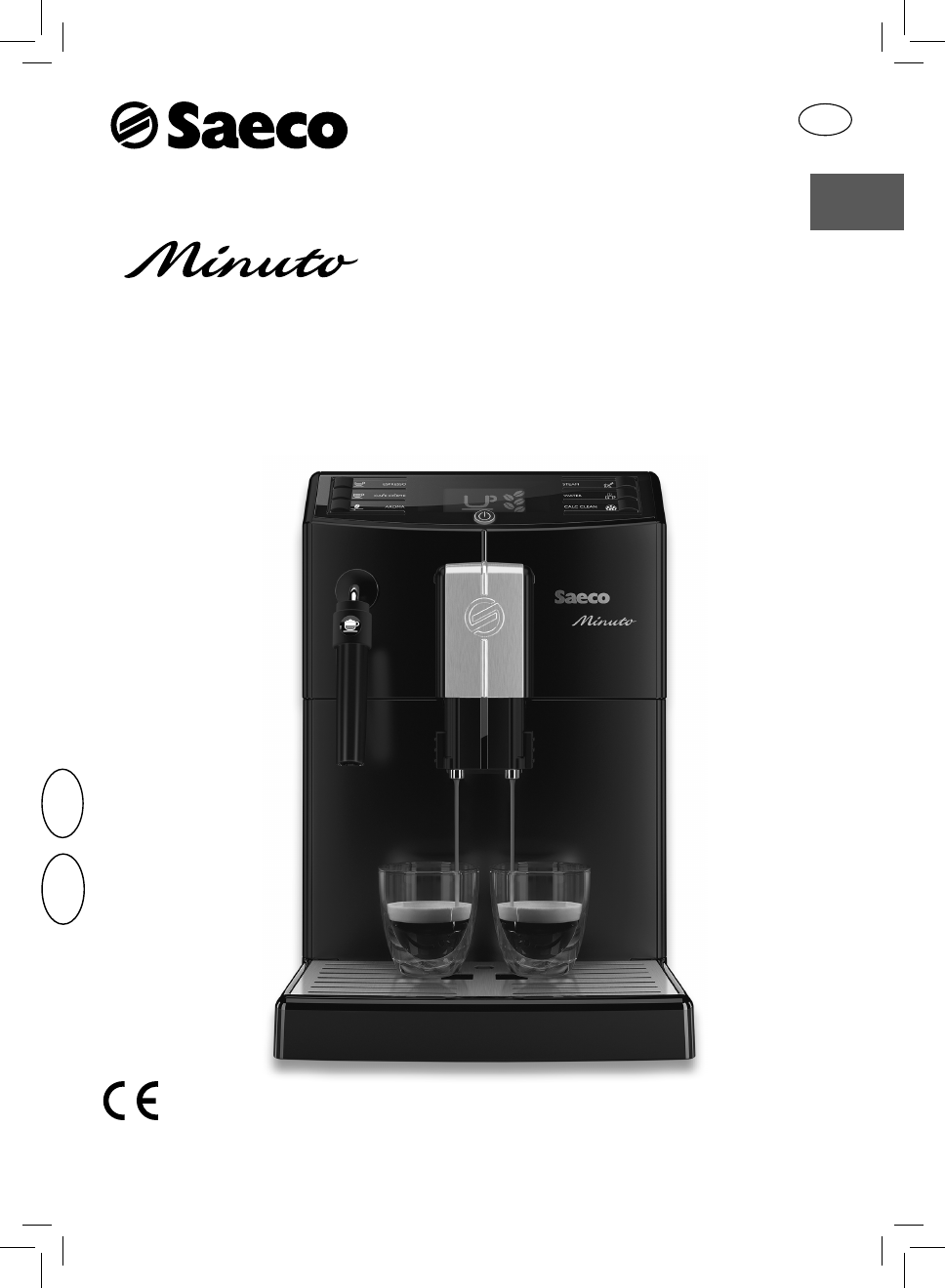 Saeco Coffee Maker Owner S Manual : Saeco Coffee Makers Coffeemaker HD8761 User Guide ManualsOnline.com