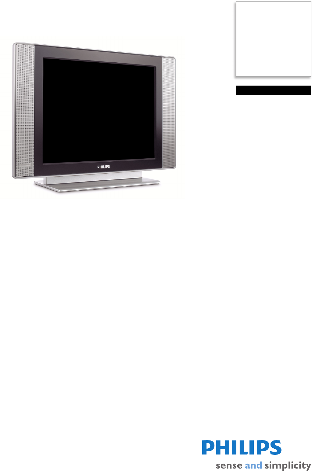 Philips Flat Panel Television 20HF4003F User Guide | ManualsOnline com