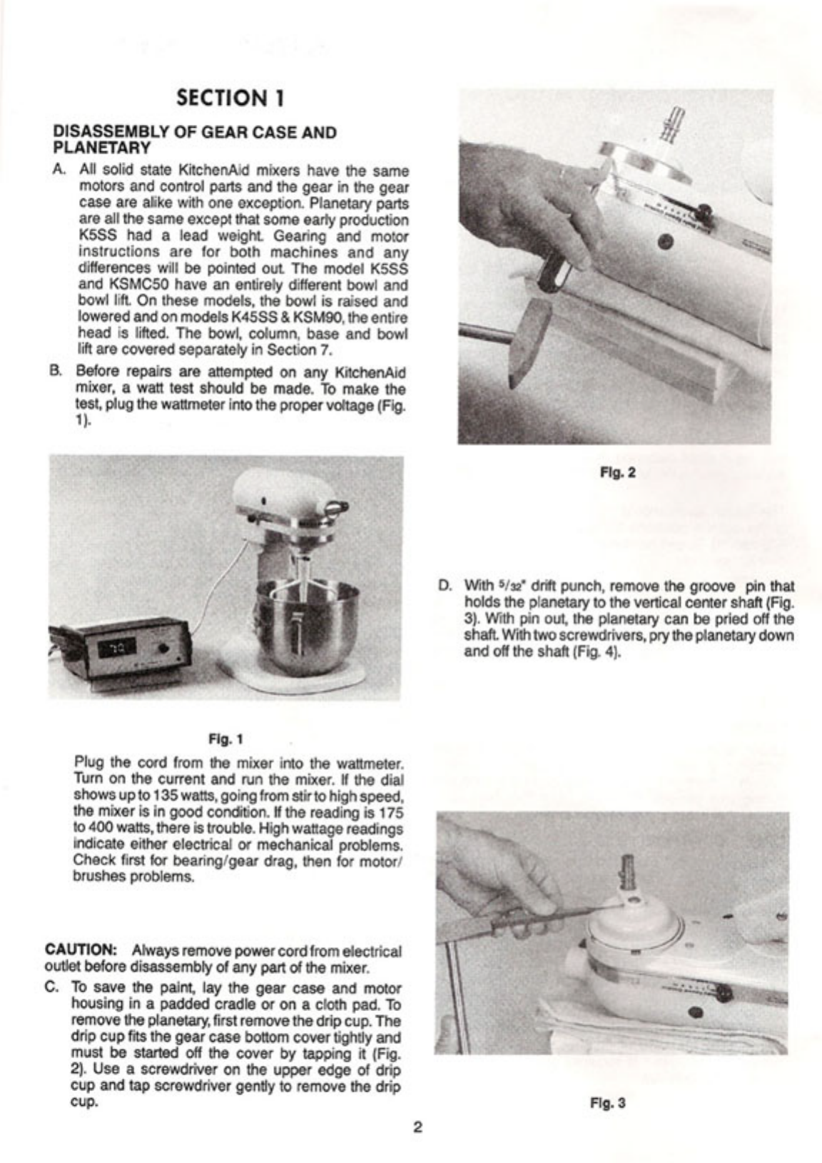 page 6 of kitchenaid mixer k5ss user guide