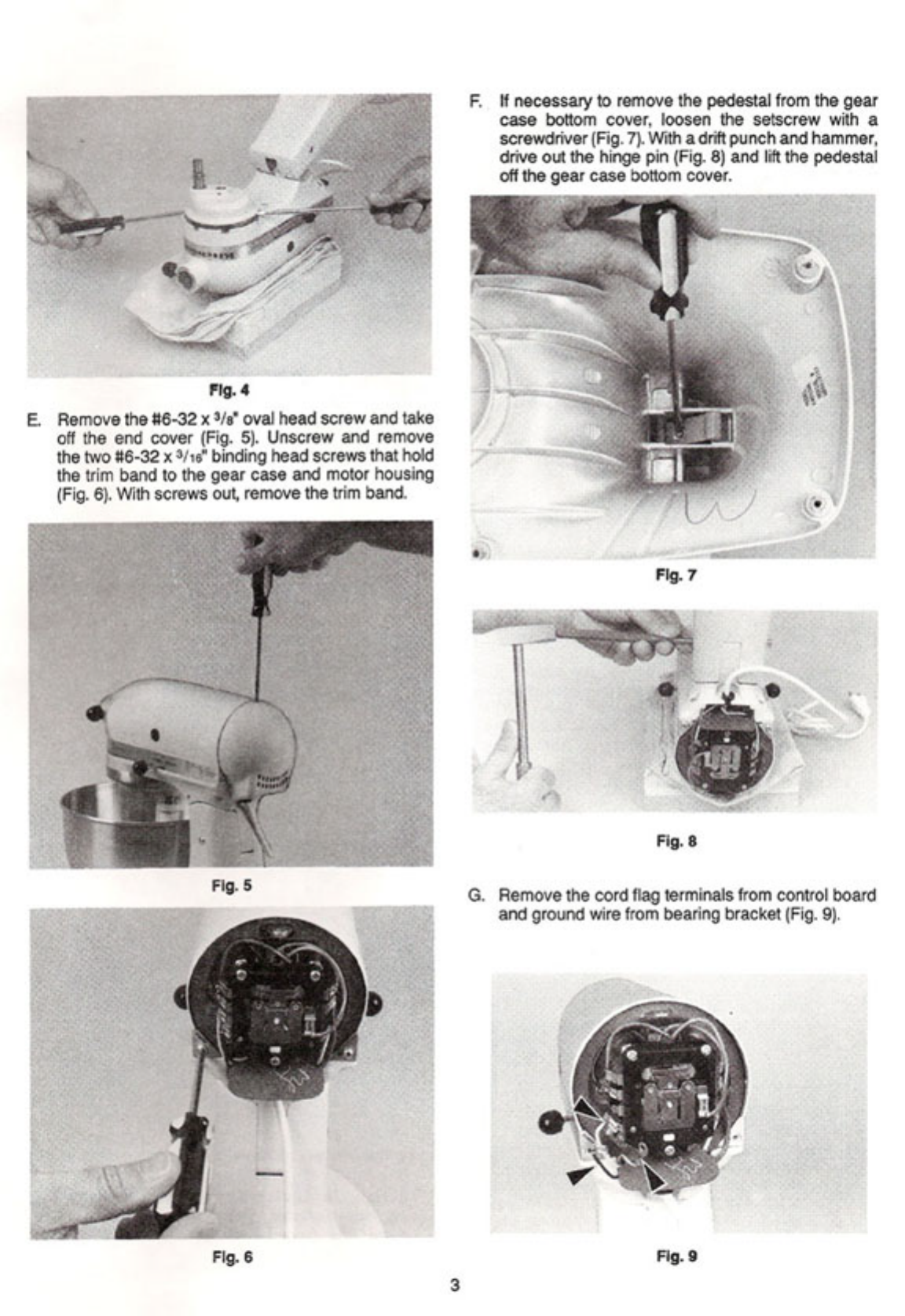 page 7 of kitchenaid mixer k5ss user guide