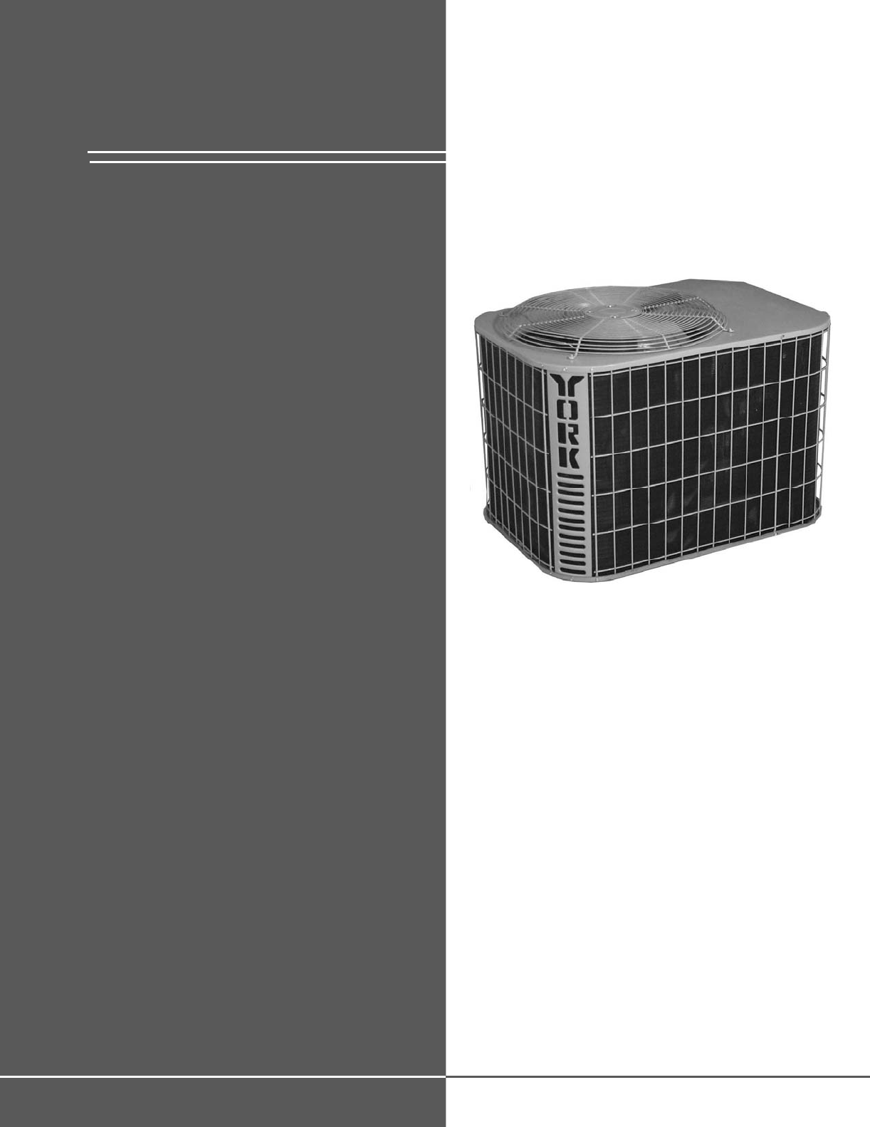 #363636 York Air Conditioner 10 User Guide ManualsOnline.com Best 9793 York Air Conditioner Installation Manual photos with 1222x1582 px on helpvideos.info - Air Conditioners, Air Coolers and more