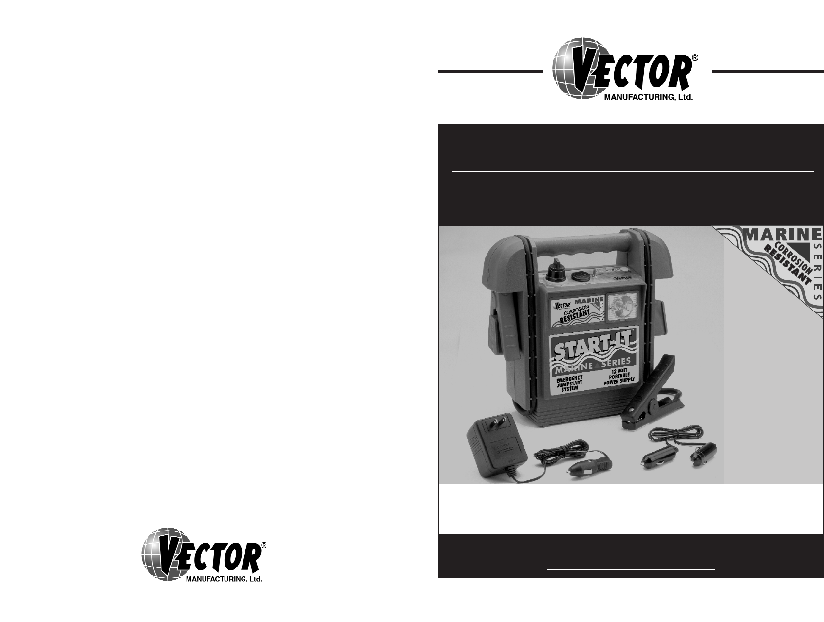 Vector power supply vec025my user guide for Vector canape user manual