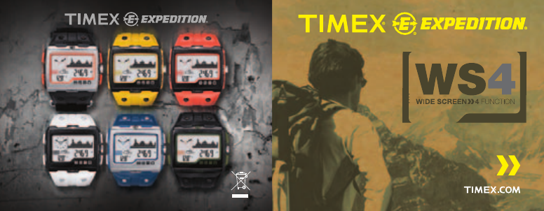 timex watch ws4 user guide manualsonline com rh fitness manualsonline com timex expedition ws4 manual timex expedition ws4 manual