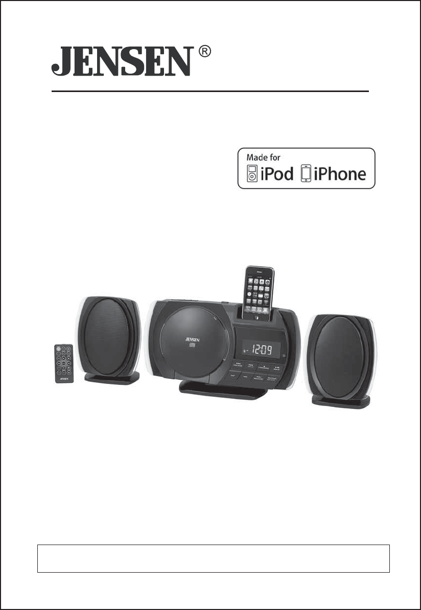 sony ipod docking station manual