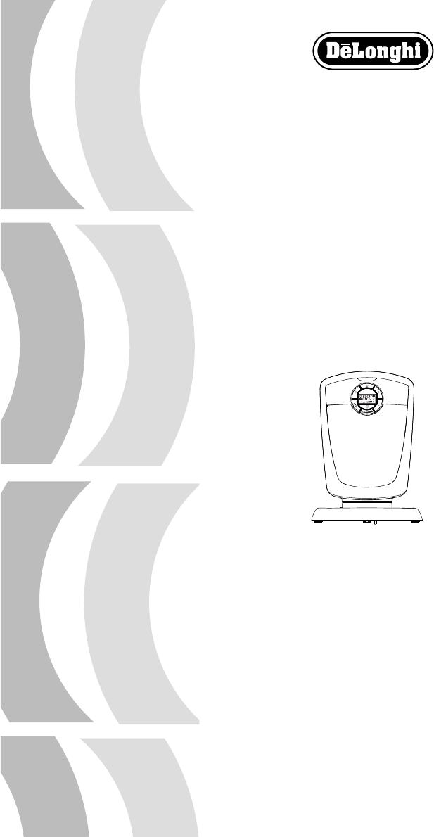 Delonghi Fan Dch4590er User Guide Manualsonline