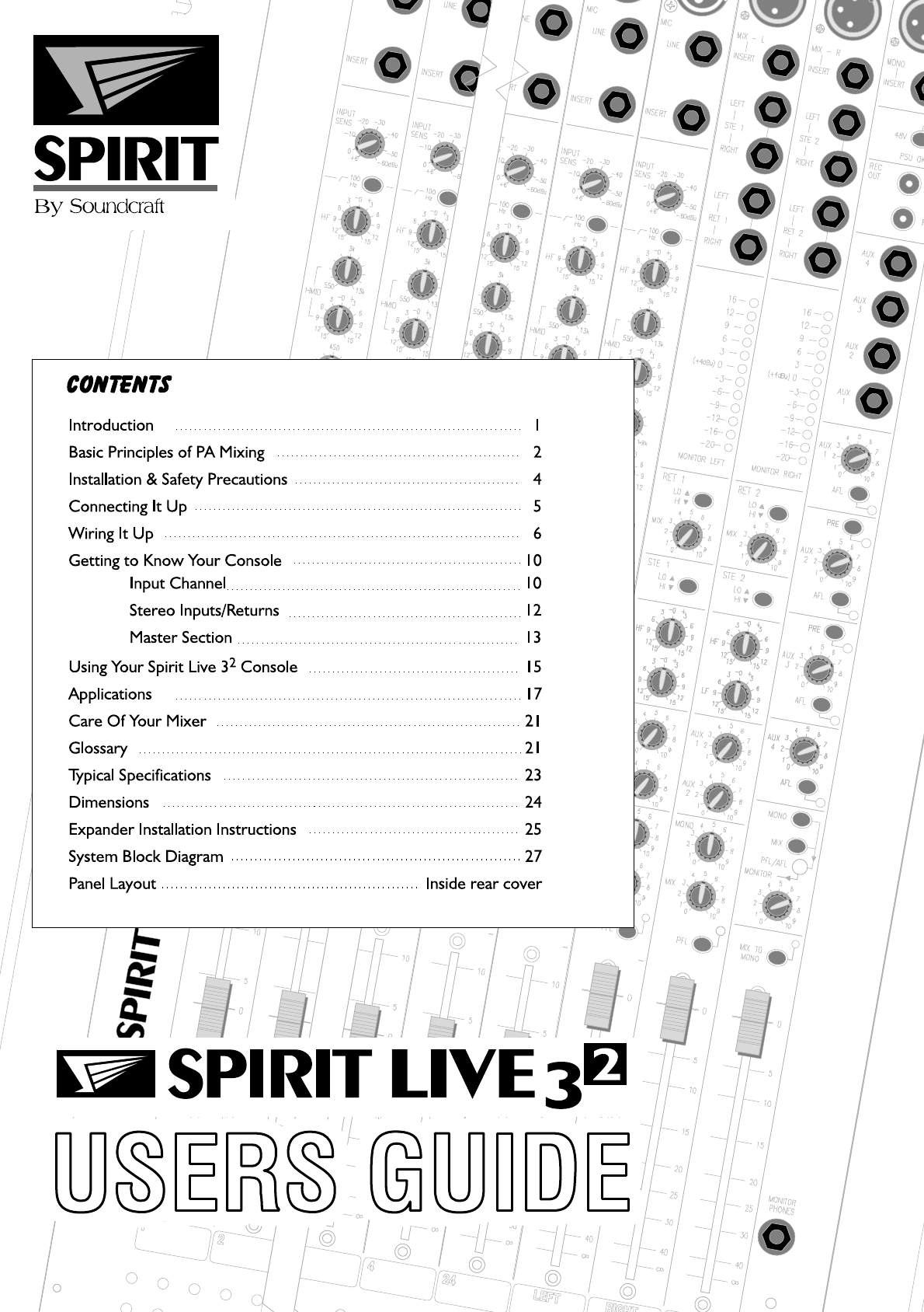 Spirit Phone System Manual 1992preludeairconditionercircuitdiagramthumbpng Array Soundcraft Music Mixer Live 3 2 User Guide Manualsonline Com Rh