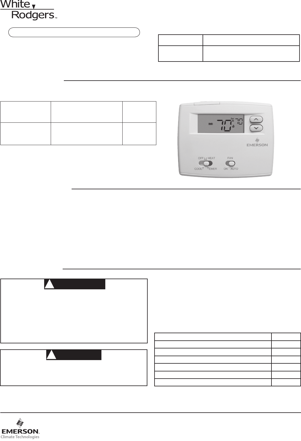 white rodgers thermostat manual 1f89 211