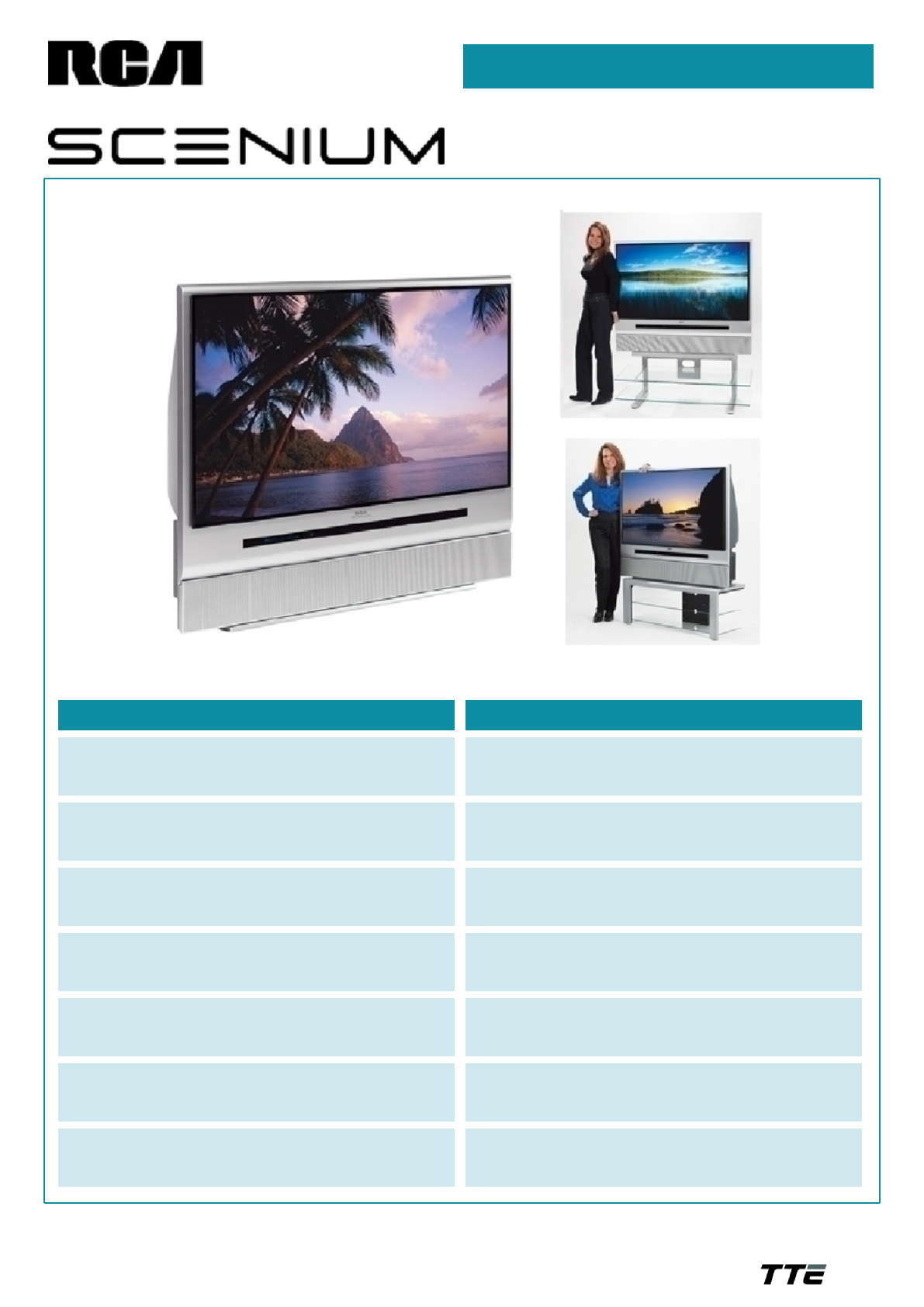 rca projection television hd50lpw165 user guide manualsonline com rh tv manualsonline com 50 RCA DLP TV 61 RCA DLP