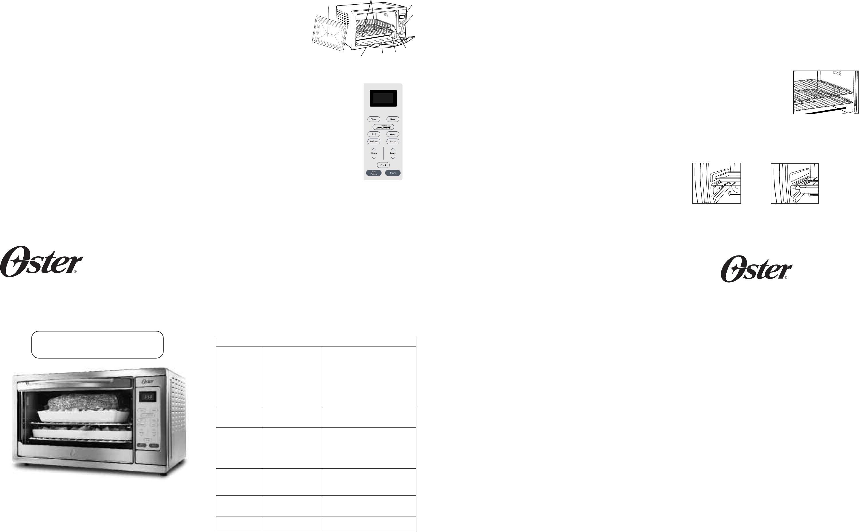oster oven tssttvxldg 001 user guide manualsonline com rh music manualsonline com Craftsman Instruction Manual Craftsman LT 2000 Manual PDF
