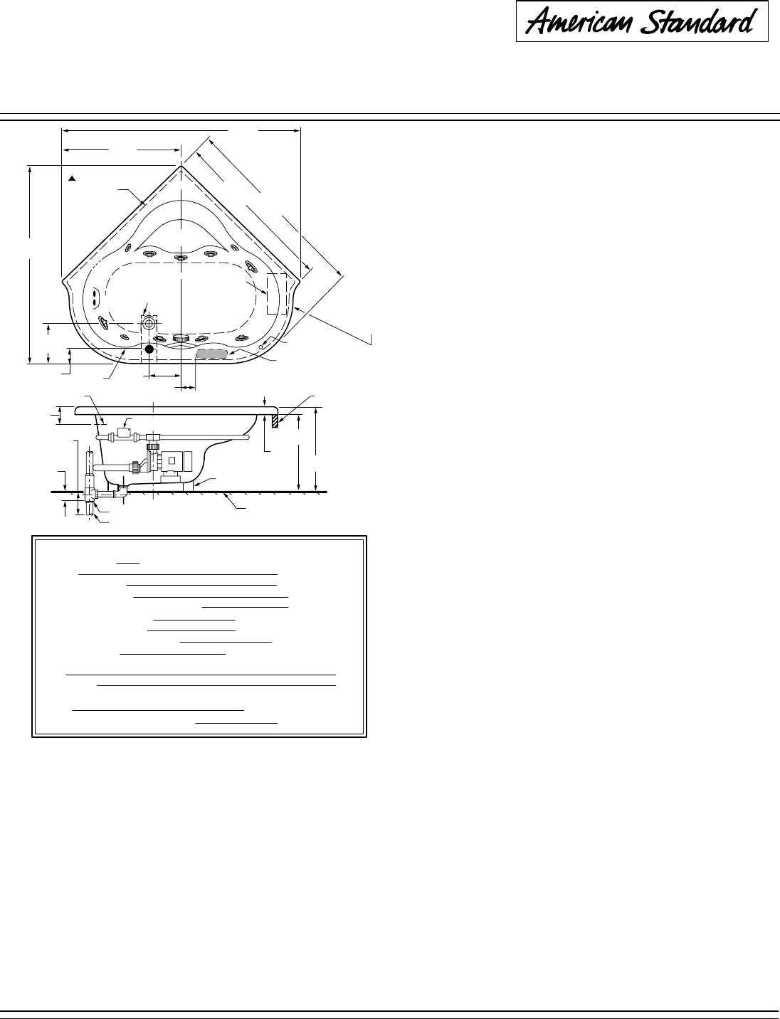 Hot Tub Specification Manual Guide