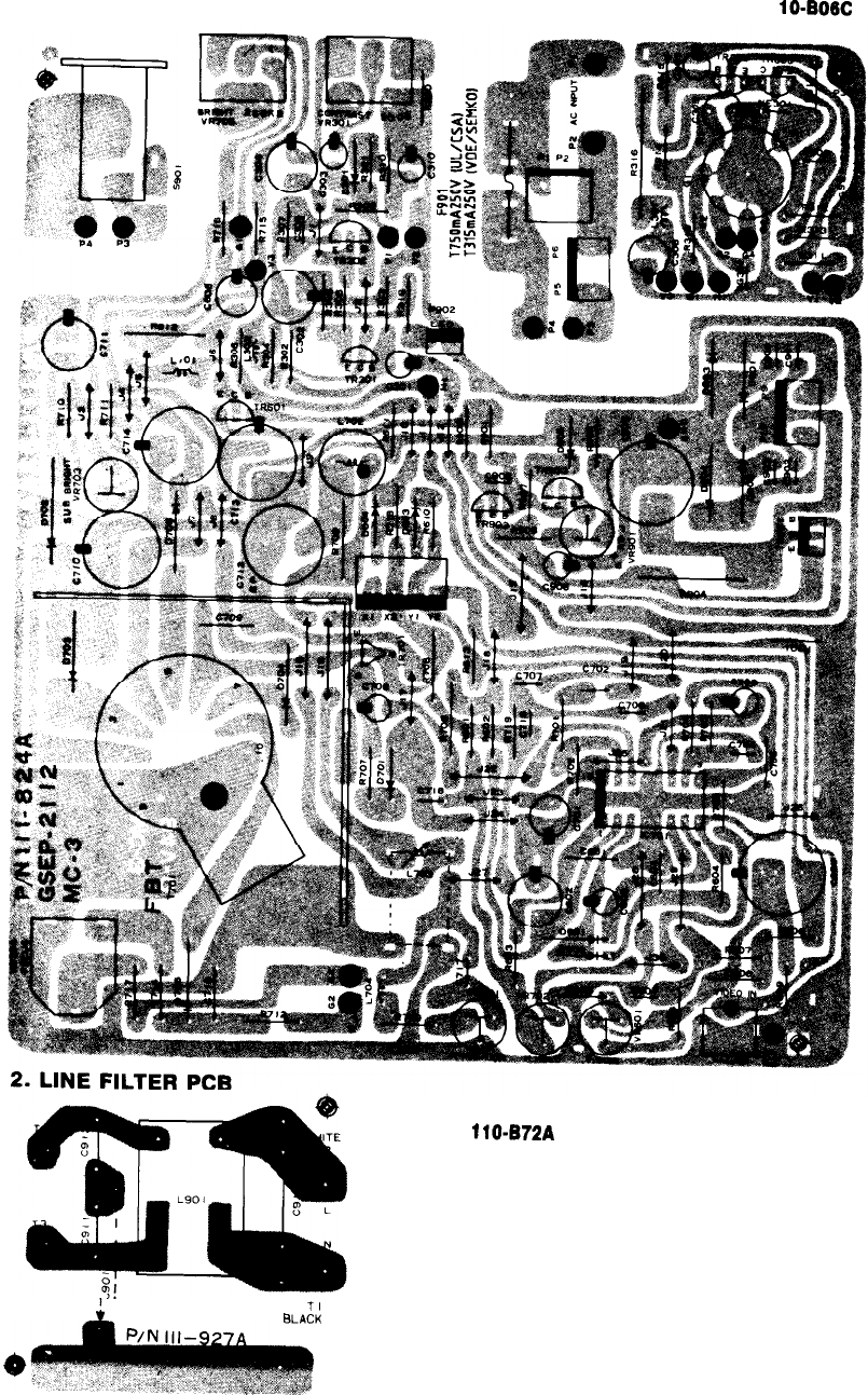 Page 9 Of Goldstar Refrigerator Mbm 2105gia User Guide Air Conditioner Wiring Diagram Printed Circuit Board