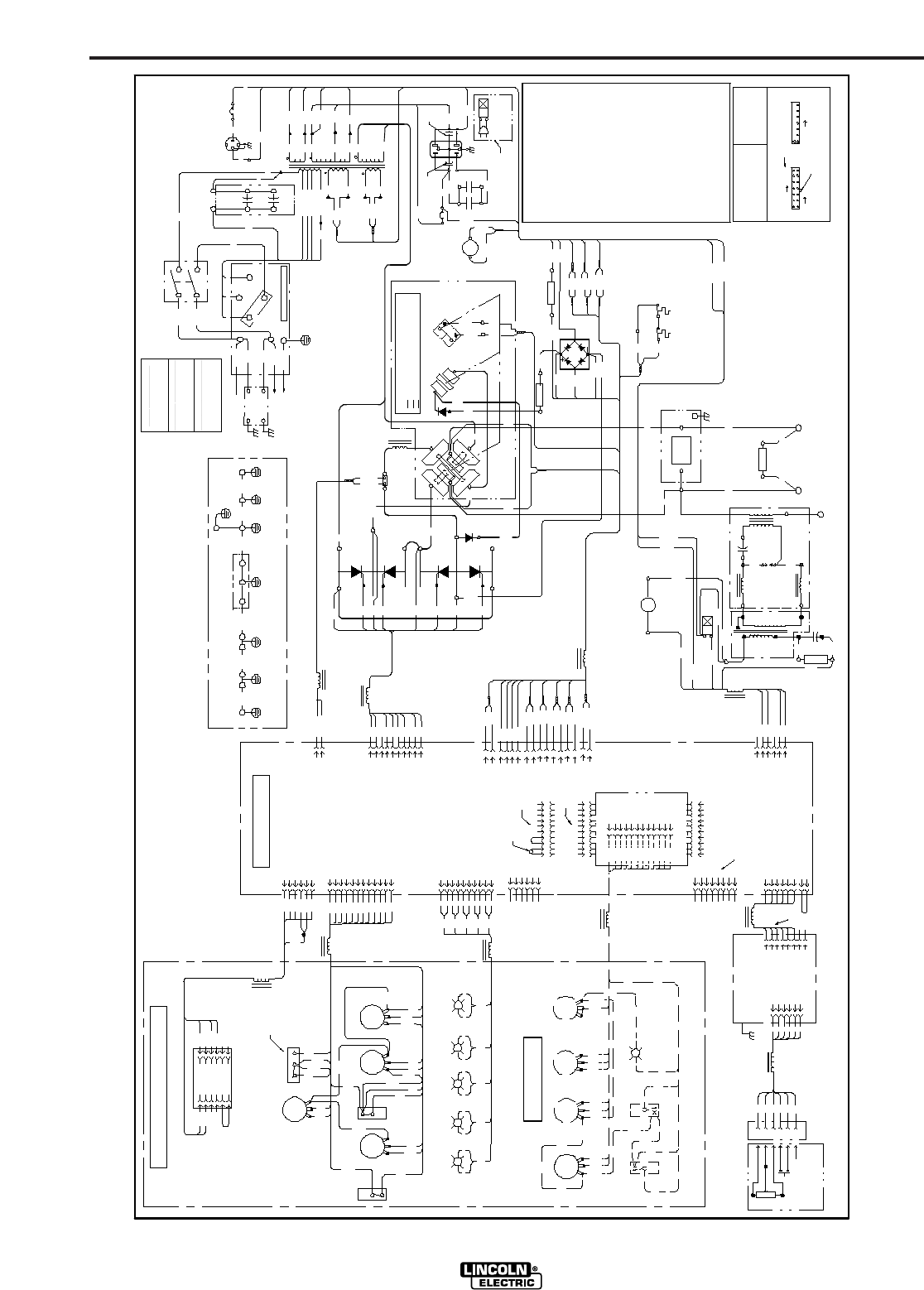 Page 40 of Lincoln Electric Welding System TIG 275 User Guide – Lincoln 225 S Wiring Diagram