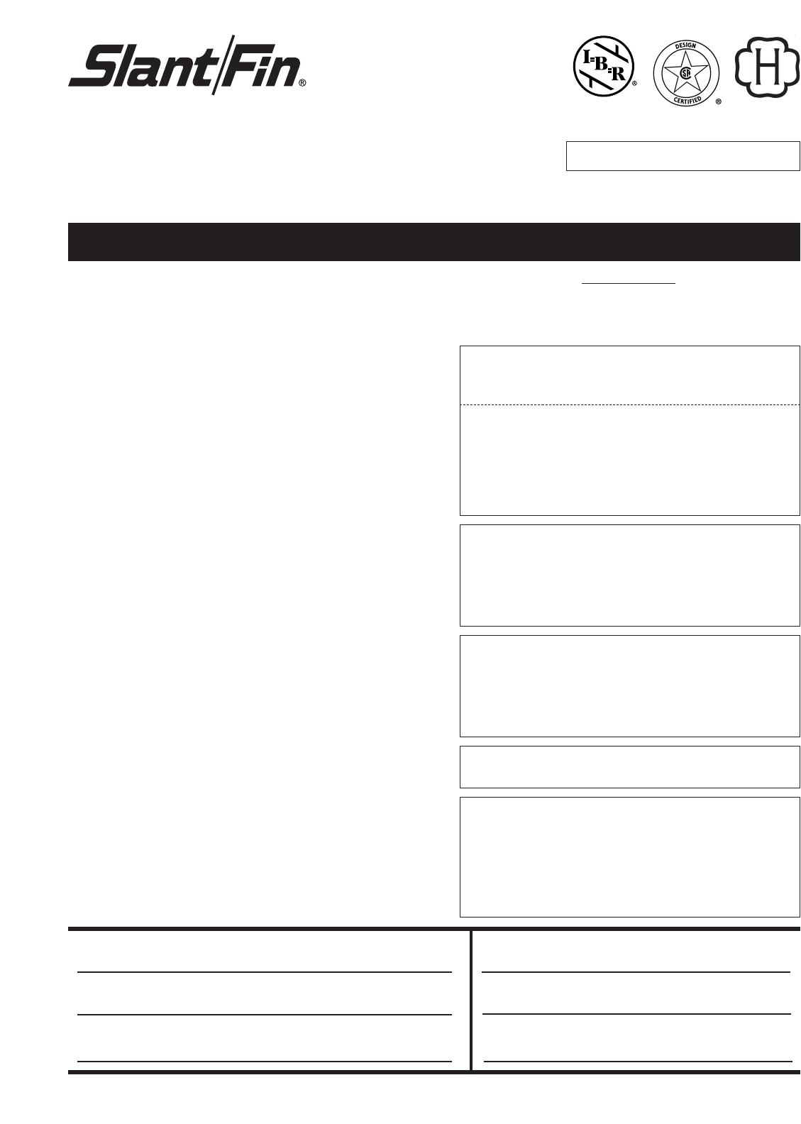 slant fin boiler s 150 user guide. Black Bedroom Furniture Sets. Home Design Ideas