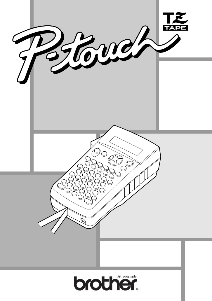brother p touch 1830 user manual