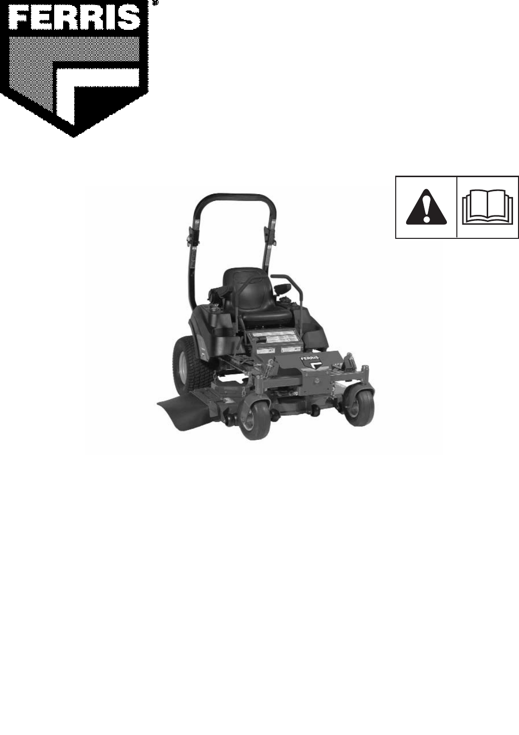 Ferris Industries Lawn Mower IS1500Z User Guide | ManualsOnline.com