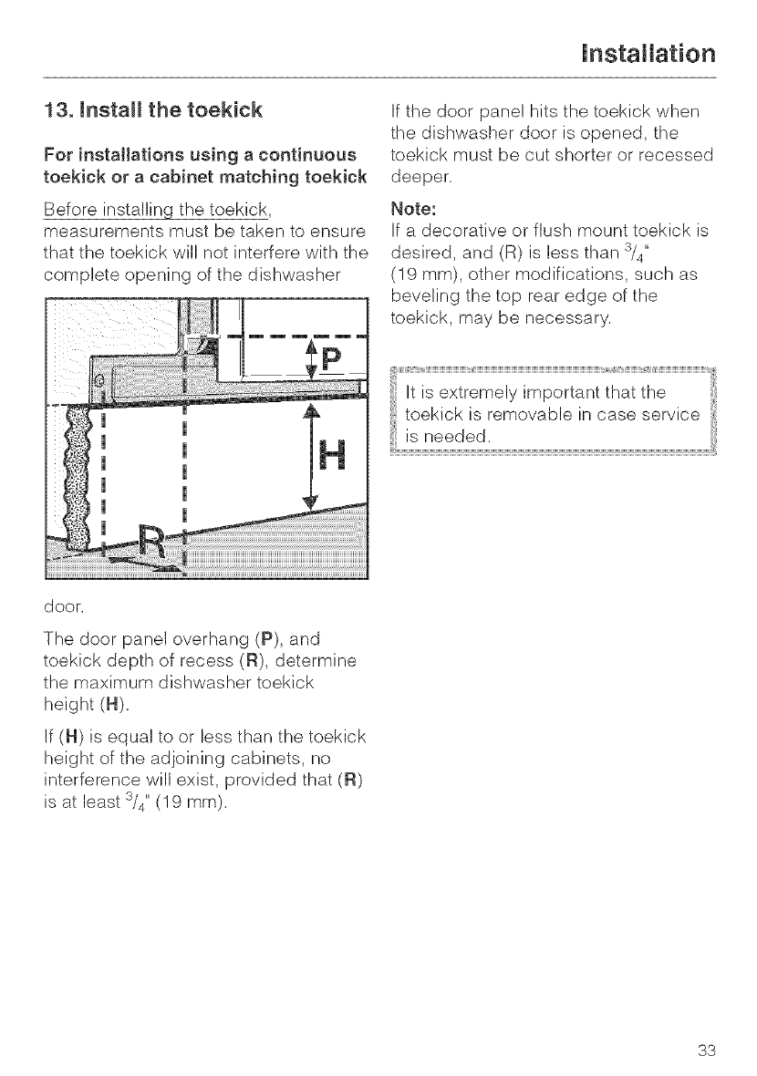 Page 33 Of Miele Dishwasher G 663 User Guide