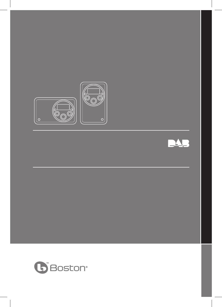 Boston Acoustics Portable Radio Solo User Guide | ManualsOnline.com