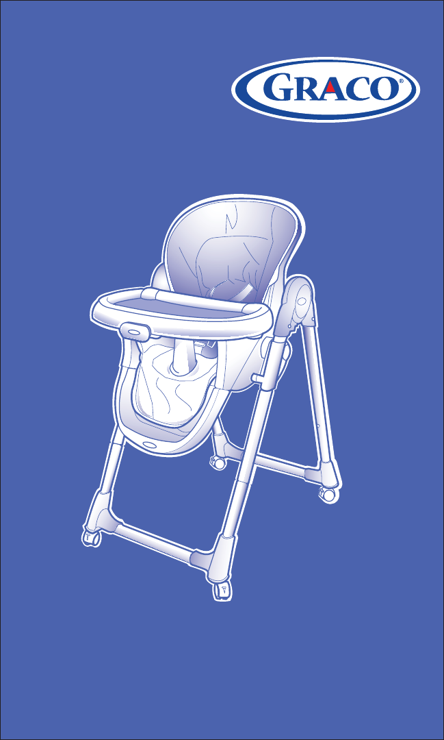 Graco High Chair 1762138 User Guide Manualsonline Com