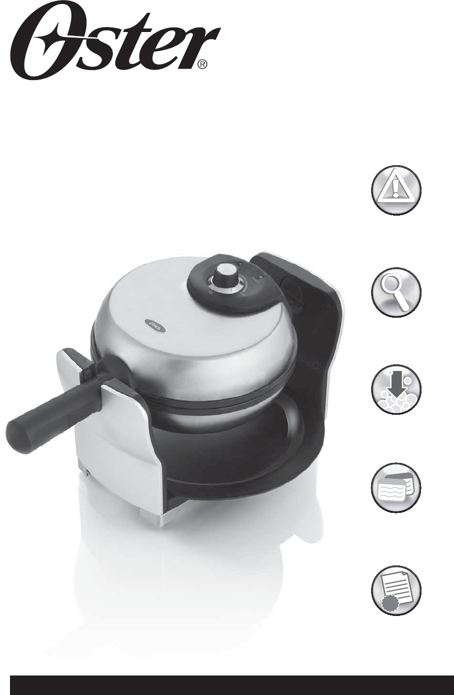 Oster Coffee Maker Troubleshooting : Oster Waffle Iron CKSTWFBF20 User Guide ManualsOnline.com