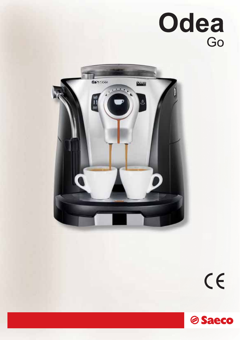 Saeco Coffee Maker Owner S Manual : Saeco Coffee Makers Espresso Maker 15000721 User Guide ManualsOnline.com