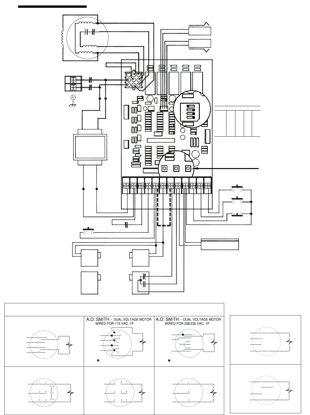 page 22 of linear garage door opener j s user guide wiring diagram schematic single phase 22 575 volts 3 phase single voltage motor