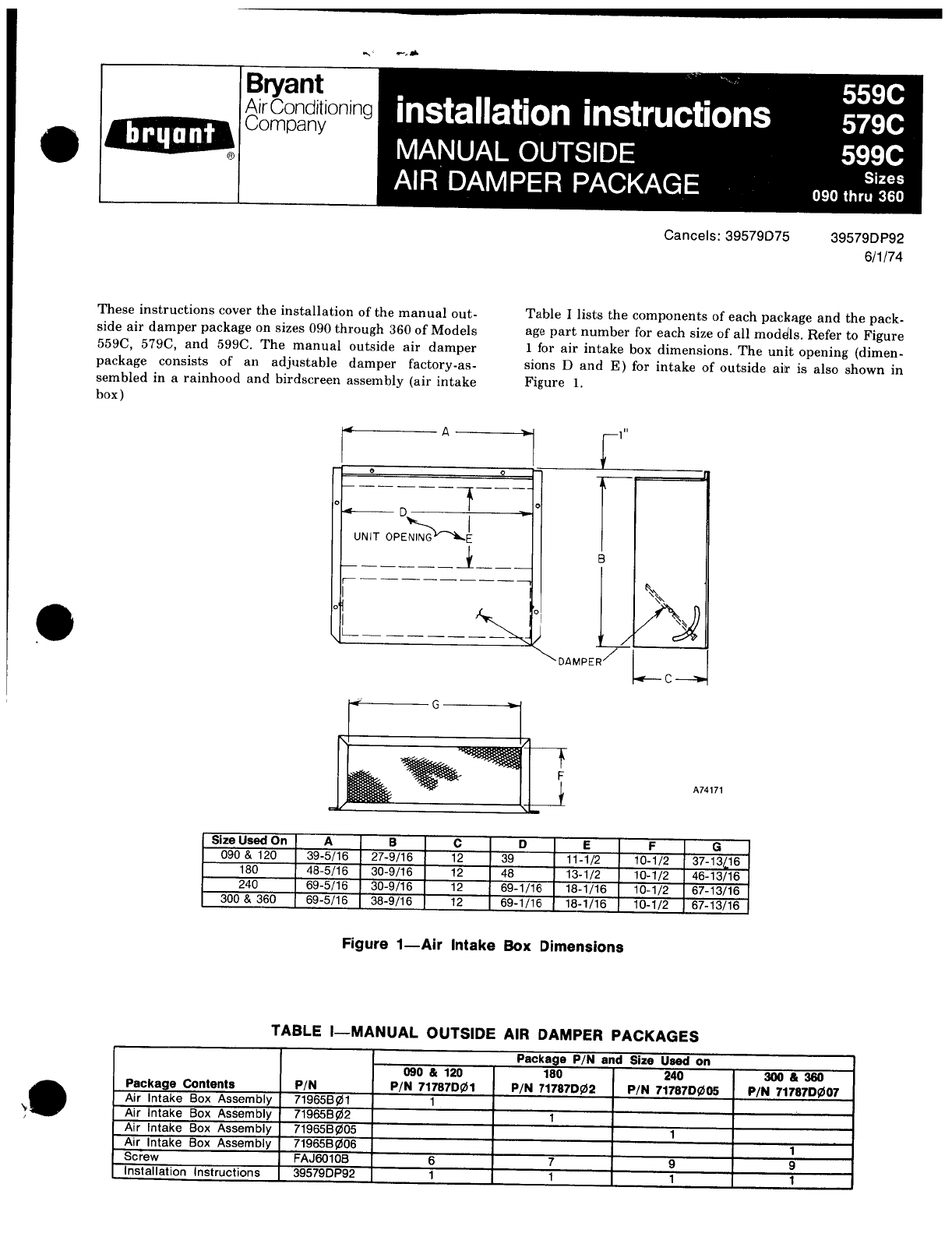 bryant air conditioner 599c user guide manualsonline com rh manualsonline com bryant air conditioner brochure bryant air conditioner brochure
