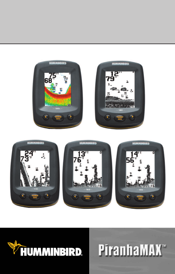 humminbird fish finder 150 user guide | manualsonline, Fish Finder