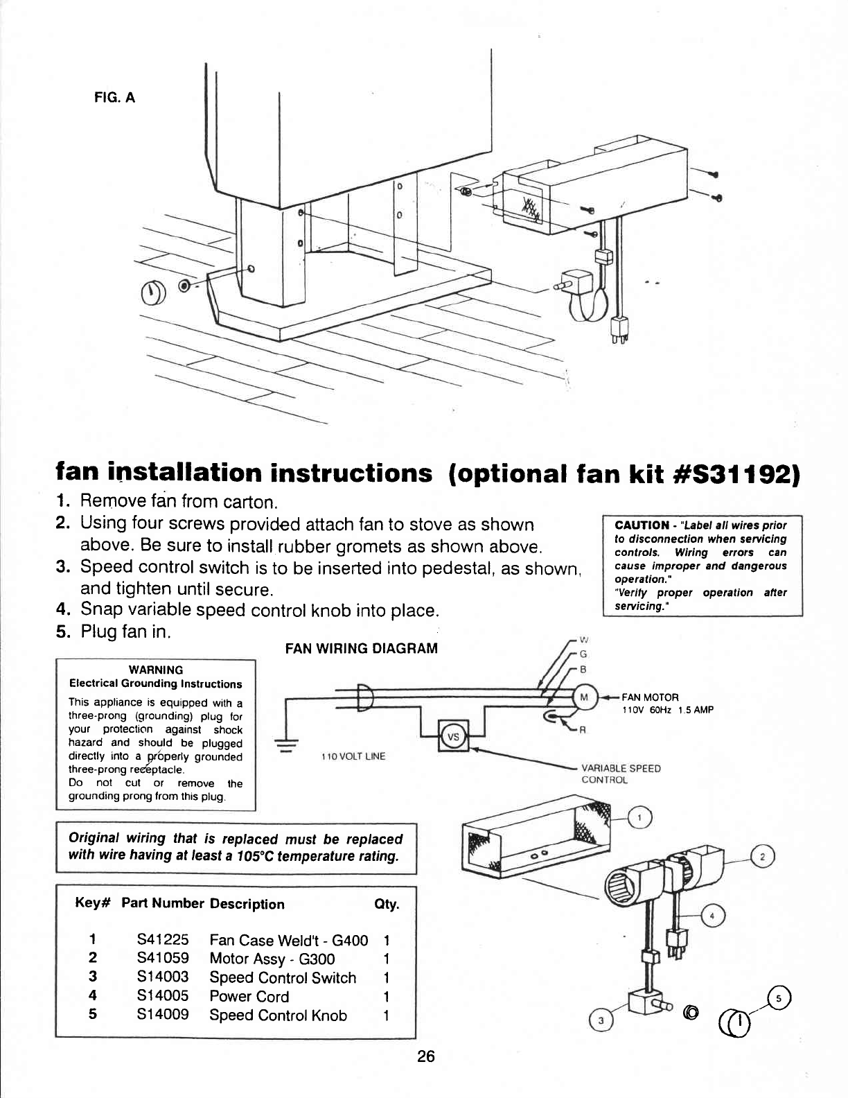 Page 25 of Vermont Casting Indoor Fireplace G600 User Guide ... Vermont Casting Wiring Diagrams on