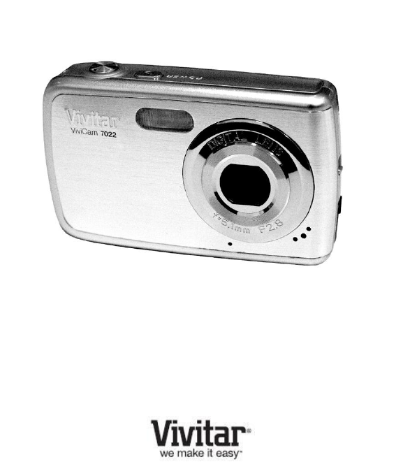 vivitar camcorder 7022 user guide manualsonline com rh camera manualsonline com Vivitar DVR 410 Manual Vivitar Film Camera