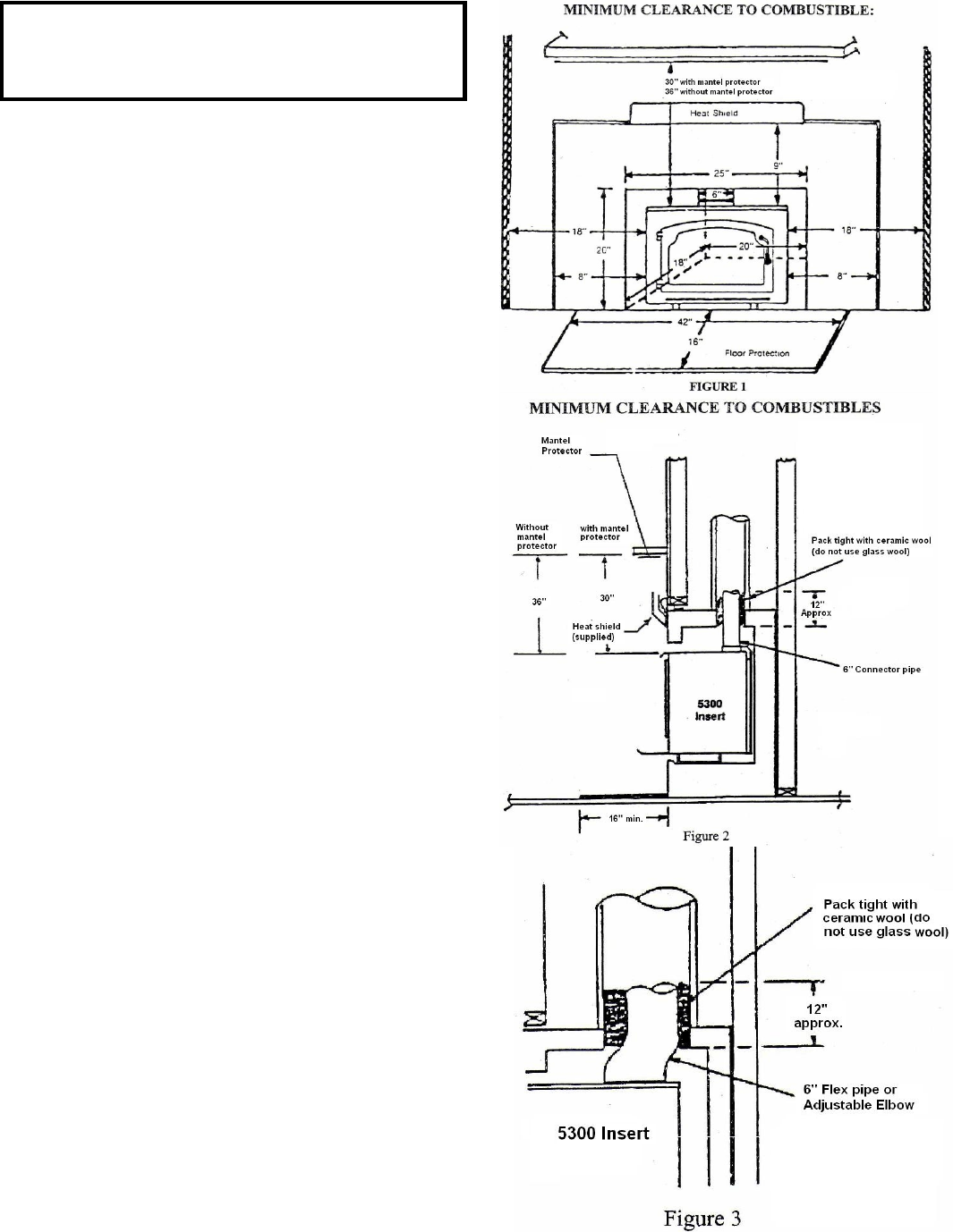 page 6 of sierra stove 5300 user guide manualsonline com