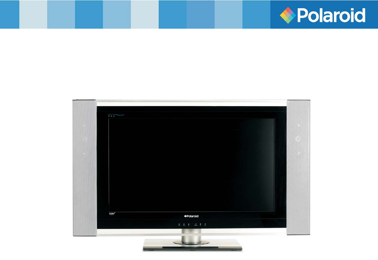 polaroid flat panel television flm 3225 user guide manualsonline com rh tv manualsonline com Polaroid 32 Inch HDTV polaroid 32 inch smart tv manual