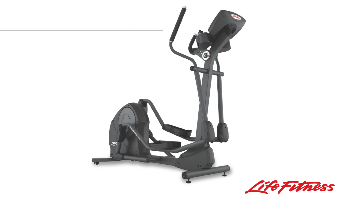 life fitness elliptical trainer x3 0 user guide manualsonline com rh manualsonline com life fitness x3i elliptical manual life fitness elliptical clsx manual
