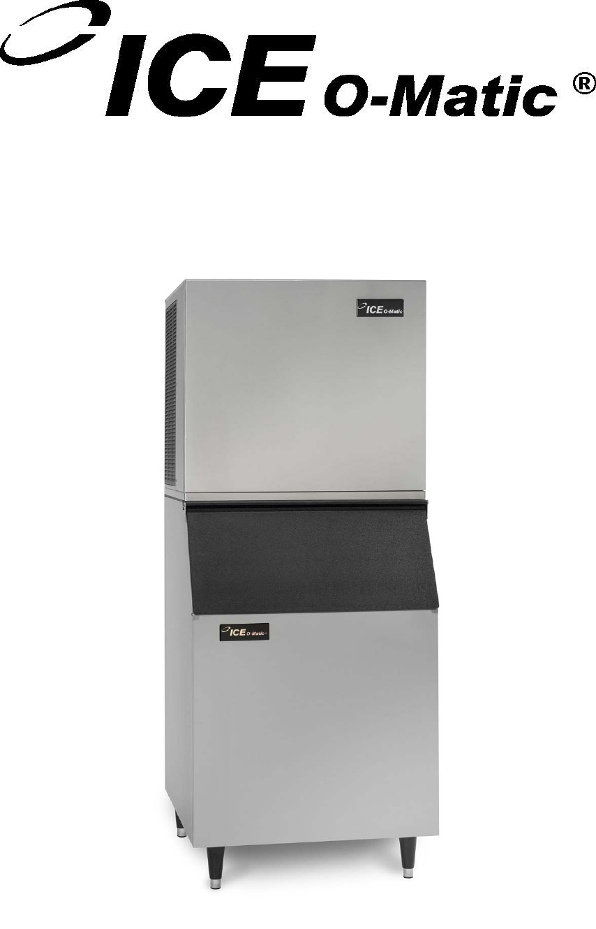 Ice O Matic Ice Maker Gem0650a W User Guide